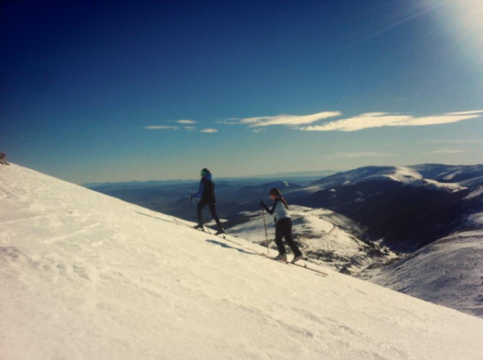 Curso esquí de montaña: aproximación