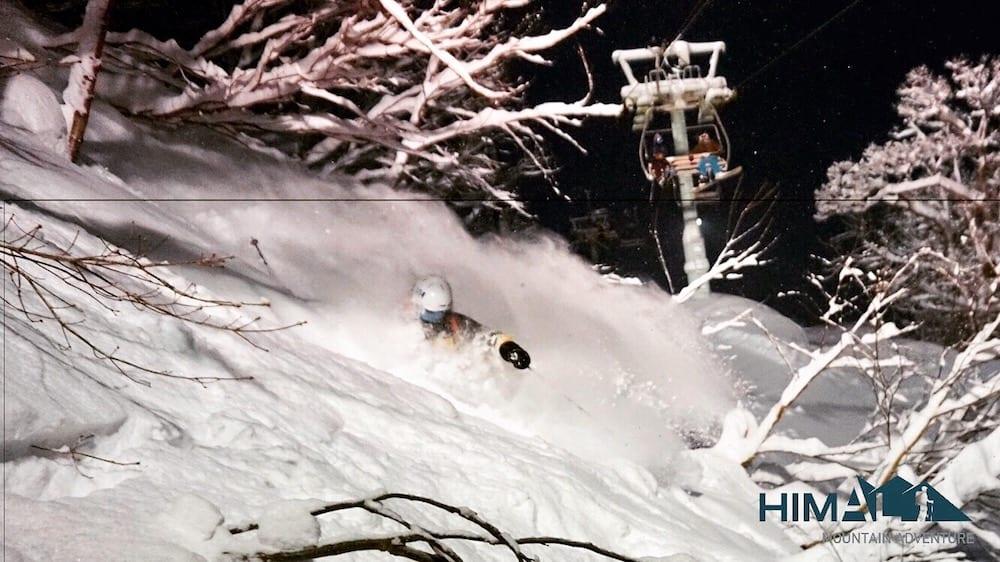 Esqui nocturno Japón