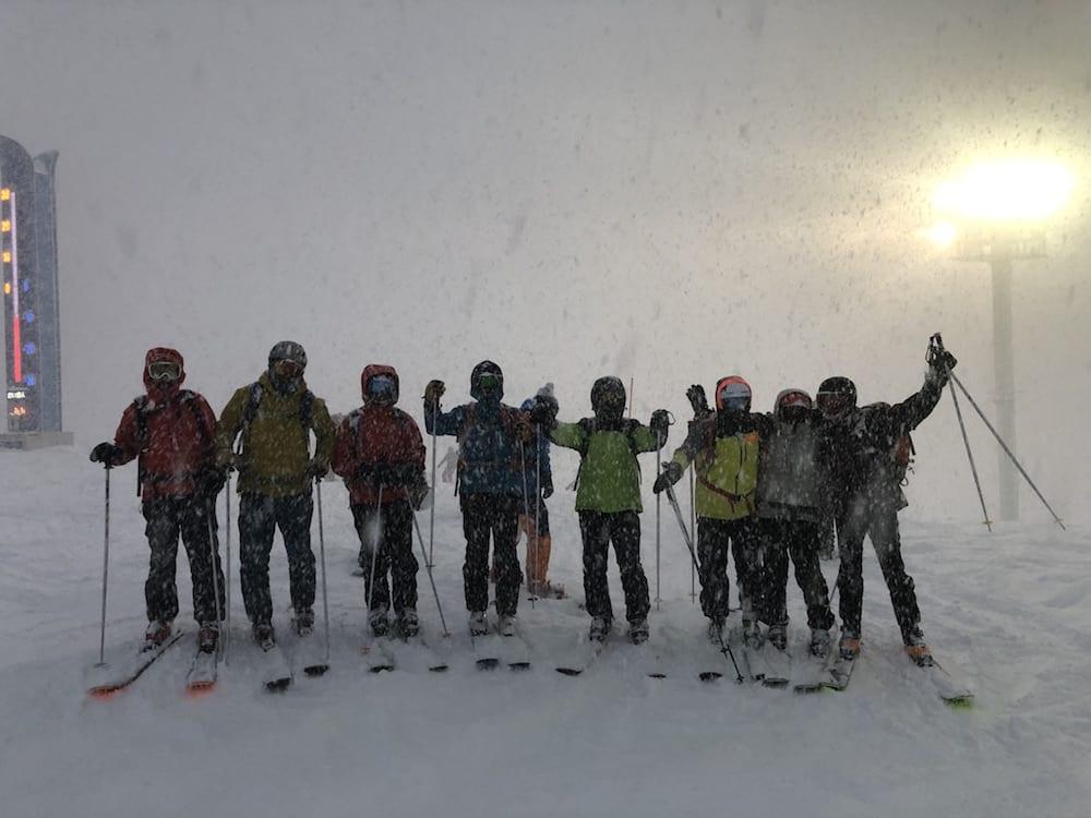 Himal Mountain en Japón esquí