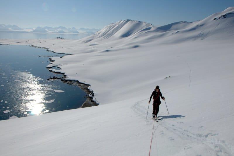 Esquiar en Prins Karl Forland